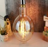Amber filament lamp