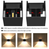 wandlamp 7 watt verstelbaar