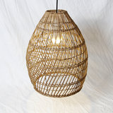 Rieten hanglamp design