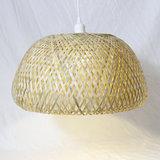 hanglamp van bamboe