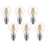 E27 LED Filament Lamp 4W Warm Wit 6 pack