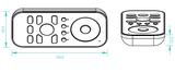 LED 4 zones afstandbediening