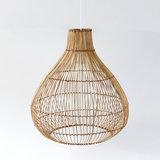 Duurzaame rotan lamp