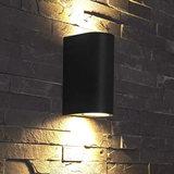 Wandlamp Up Down zwart