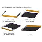 LED Paneel Montage
