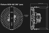 LED Schijnwerper Apollo Pro 100W_