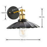 wandlamp led
