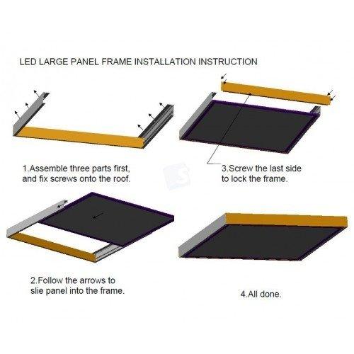 LED Paneel installatie
