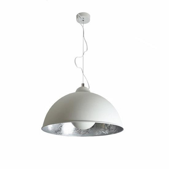 Nice Hanglamp Industrieel Wit Zilver Ø50cm