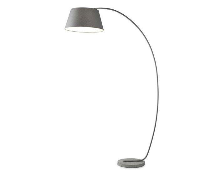 Annecy Design Vloerlamp Boog Grijs 195cm