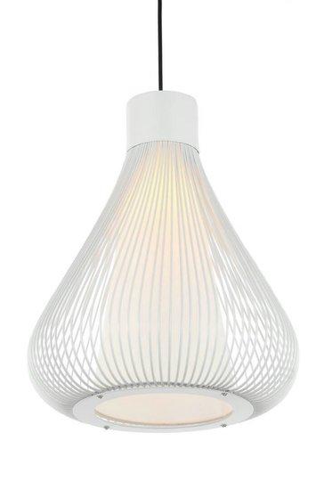 Verdana Design Kooi Hanglamp Wit Ø34cm