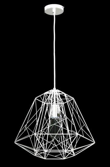 Industriële Metalen Draadlamp Kooi Hanglamp Wit