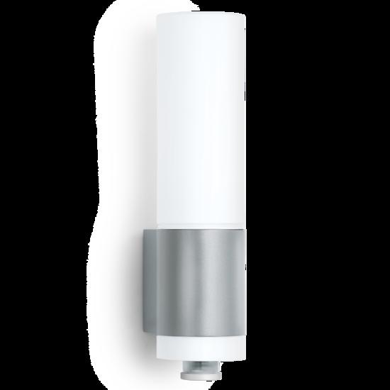 Steinel L 265 Buitenwandlamp Bewegingssensor, Waterdicht IP44, Zilver, E27 Fitting