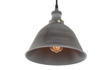 Industriële Hanglamp Grijs