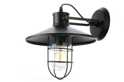 Industriële Wandlamp Buiten