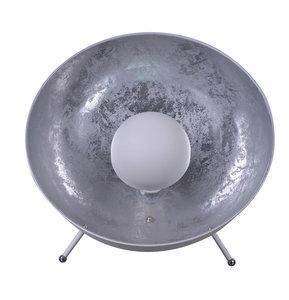 Industrieel Design Tafellamp Zilver Wit