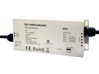 LED RGBW Wifi Controller