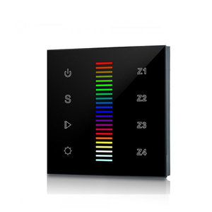 LED Full Touch RF&Wifi RGBW Controller