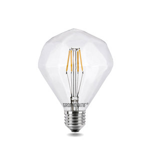 E27 LED Filament Diamant 4 watt