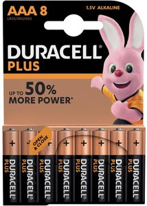 Duracell Plus Power AAA Batterij