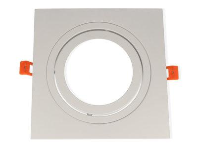 inbouwspot vierkant aluminium kantelbaar