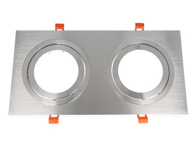 inbouwspot vierkant aluminium
