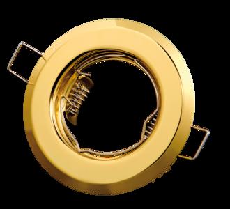 inbouwspot rond goud
