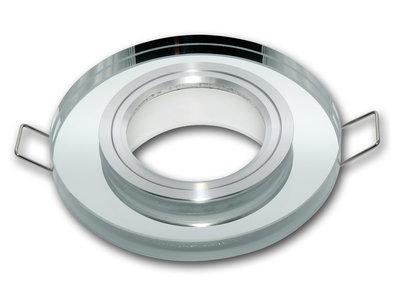 Inbouwspot Rond Glas Chrome