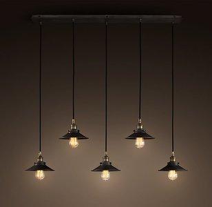 Hanglamp 5 Kappen