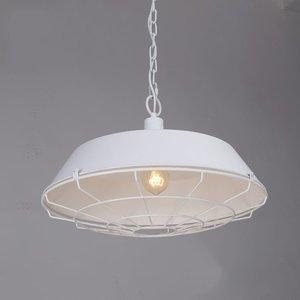 witte industriele hanglamp