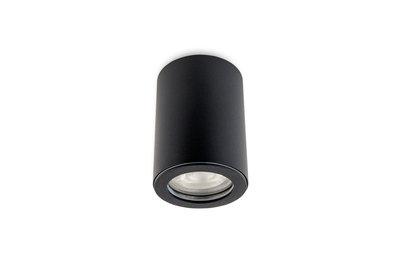 zwarte opbouwlamp