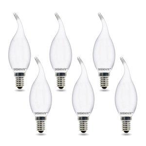 LED filament kaarslampen 6 pack