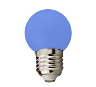 E27 lamp blauw