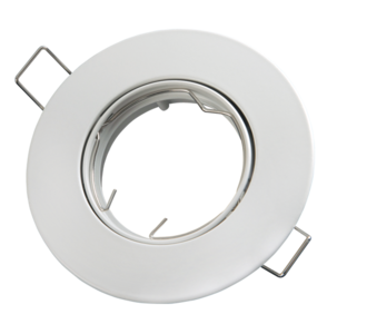 inbouwspot rond wit mat aluminium