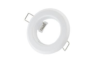 inbouwspot rond mat wit