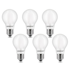 LED Filament Frost E27 6 pack