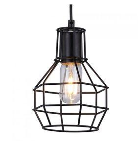 Design Vintage Hanglamp.Vintage Hanglamp Zwart Cage Design Slaapkamer Hanglampen