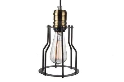 Vintage hanglamp zwart pear design keuken hanglampen