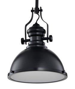 Industriële Hanglamp Zwart