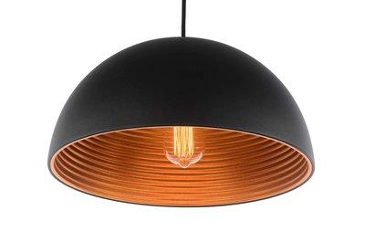 Hanglamp Zwart Koper