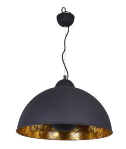 Nice Hanglamp Industrieel Zwart Goud Ø 50cm - Hanglamp Eetkamer