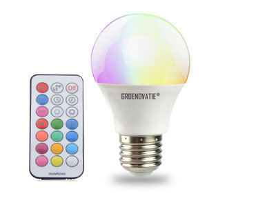 E led lamp w rgbw dimbaar incl afstandsbediening philips hue
