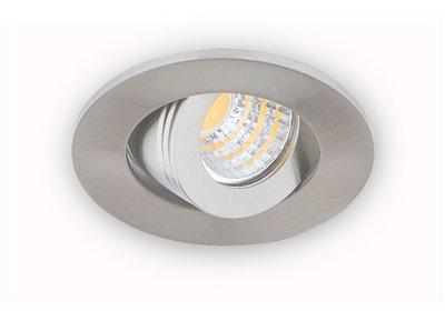 Dimbare inbouwspot led w aluminium led inbouwspots dimbaar
