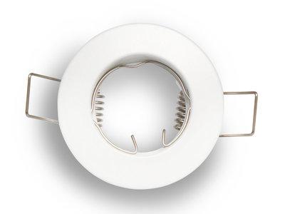 inbouwspot mr11 rond aluminum wit mat