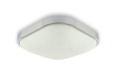 Led plafondlamp w vierkant cm met ronde hoeken lichbron