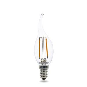 LED filament kaarslamp dimbaar
