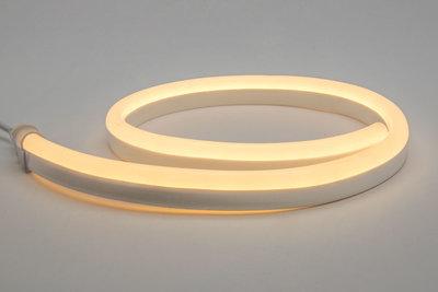 LED Neon Flex 230V, Warm Wit 2800K, Waterdicht - LED Lichtreclame