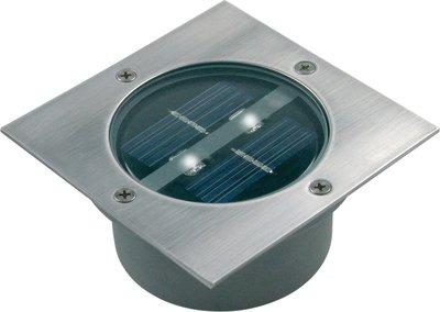 Solar Inbouwspots Tuin : Led solar grondspot tuinverlichting schemersensor waterdicht ip