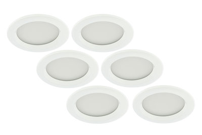 Badkamer Led Inbouwspots : Led inbouwspot w wit rond waterdicht ip badkamer pack