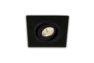 LED inbouwspot zwart